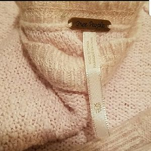 Free people wool and cashmere sweater